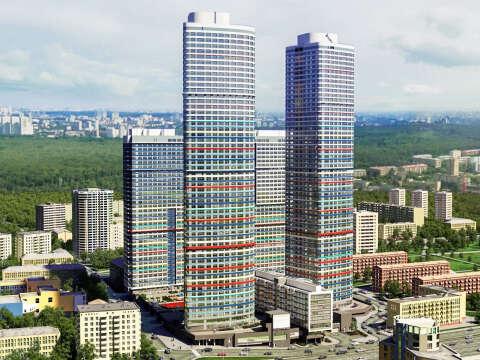 ЖК «Триколор» на проспекте Мира Квартиры бизнес-класса